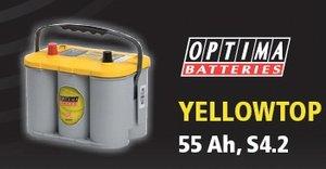 Optima YellowTop55     19,5 kg